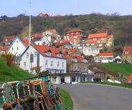 Villlage litoral da pesca Imagem de Stock Royalty Free