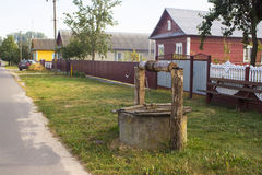 Villlage street Stock Image