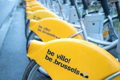 Villo! het programma van de fietshuur royalty-vrije stock afbeelding