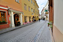 Vilna少数民族居住区 维尔纽斯 立陶宛 免版税图库摄影