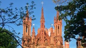 vilnius εκκλησιών στοκ εικόνα