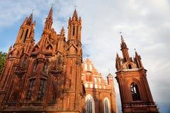 vilnius εκκλησιών s ST της Anne Στοκ Φωτογραφία