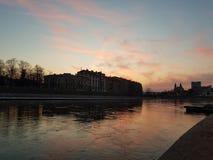 Vilnius εν την ειρήνη στοκ εικόνες