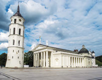 Vilnius, Λιθουανία - 16 Αυγούστου 2013 Καθεδρικός ναός του ST Stanislau Στοκ Εικόνα