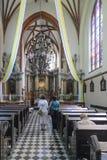 Vilnius, Λιθουανία, Ευρώπη, η εκκλησία του ST Anne Στοκ φωτογραφία με δικαίωμα ελεύθερης χρήσης