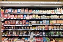 VILNIUS, ΛΙΘΟΥΑΝΙΑ - 10 ΝΟΕΜΒΡΊΟΥ 2016: Λεωφόρος καταστημάτων μεγίστων στη Λιθουανία Ένα από τα δημοφιλέστερα καταστήματα στη Λιθ Στοκ Εικόνα