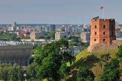 vilnius πύργων στοκ φωτογραφία