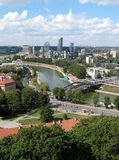 Vilnius. View of Vilnius - capital of Lithuania, from the Tower of Gediminas Royalty Free Stock Photography
