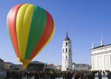 VILNIUS-- 11. März-Unabhängigkeit von Litauen stockbilder