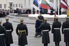 Vilnius 16 Φεβρουαρίου Στοκ Φωτογραφίες