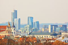 Vilnius. The capital of Lithuania - Vilnius royalty free stock photos