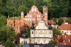 Vilnius Obrazy Royalty Free