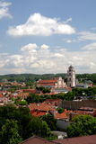 Vilnius. View on the capital of Lithuania- Vilnius royalty free stock photo