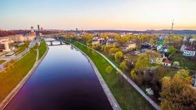 Vilnius aerial Stock Images