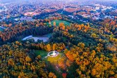 Vilnius aerial royalty free stock image