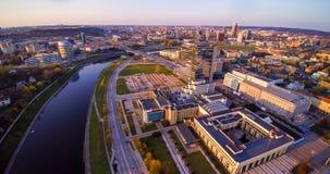 Vilnius aerial view Stock Photos
