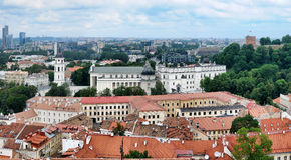Vilnius-alte Stadt Lizenzfreie Stockbilder