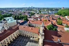 Vilnius-alte Stadt Stockfotografie