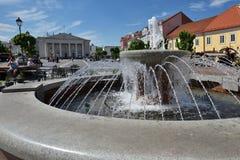 Vilnius-alte Stadt Stockfoto