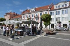 Vilnius-alte Stadt Stockbild