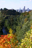 Vilnius in autumn Royalty Free Stock Photography