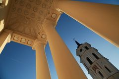 Vilnius Basilica Stock Photography