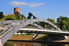 Vilnius bridge Royalty Free Stock Images