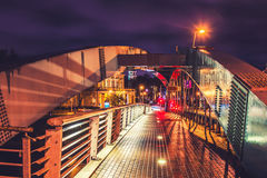 Vilnius bridge Royalty Free Stock Image