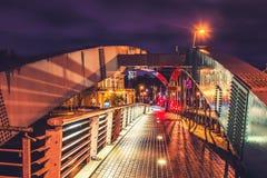 Vilnius bridge royalty free stock image