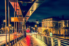 Vilnius bridge Royalty Free Stock Photo