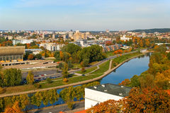 Vilnius. Capital of Lithuania Royalty Free Stock Photography
