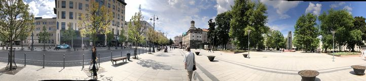 Vilnius. The capital of Lithuania. royalty free stock image