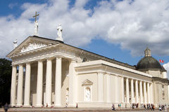 Vilnius Cathedral. Famous Cathedral in Vilnius - capital of Lithuania, Europe Royalty Free Stock Photos