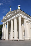 Vilnius Cathedral. On the sunny summer day Stock Photos