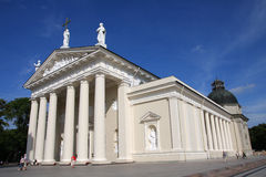 Vilnius Cathedral. On the sunny summer day Royalty Free Stock Photography