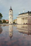 Vilnius Cathedral and belfry Stock Photography