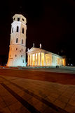 Vilnius Cathedral and bell tower Royalty Free Stock Photo