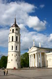 Vilnius Cathedral in Lithuania Royalty Free Stock Photos