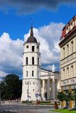 Vilnius Cathedral, Lithuania Stock Photography