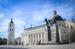 Vilnius Cathedral Stock Image