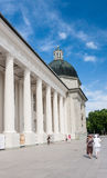 Vilnius. Cathedral Square. The Cathedral and the Chapel Sv.Kazimira Royalty Free Stock Photography