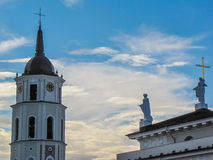 Vilnius Cathedral Royalty Free Stock Photography