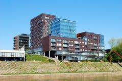 Vilnius center residential block - new view of Vilnius city. Royalty Free Stock Image
