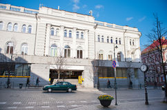 Vilnius Central Post Office Building in Gediminas Avenue, Vilnius, Lithuania Stock Image