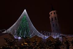 Vilnius choinka Obrazy Stock