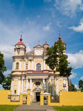 Vilnius Church. The Church of St Peter and John in Vilnius, Lithuania Royalty Free Stock Photos