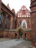 Vilnius. Church of the city of Vilnius attractions Stock Photo