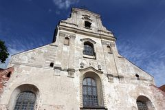 Vilnius church Stock Image
