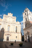 Vilnius church Royalty Free Stock Photo