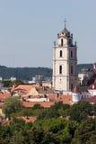 Vilnius churches Stock Photos